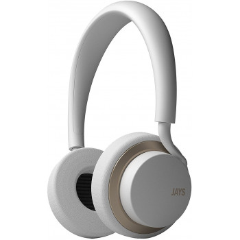 Беспроводные наушники Jays U-Jays Wireless White\Gold