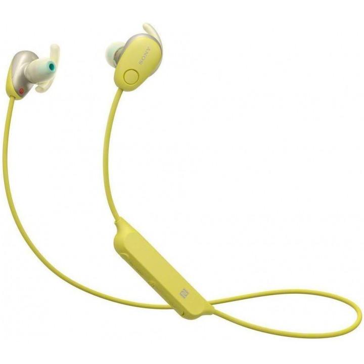 Беспроводные наушники Sony WI-SP600 Yellow