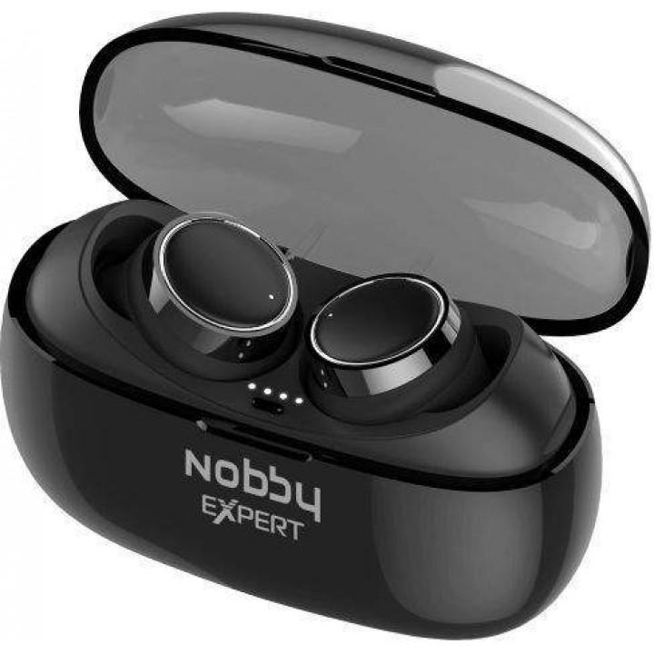 Беспроводные наушники Nobby Expert T-110 Black/Silver