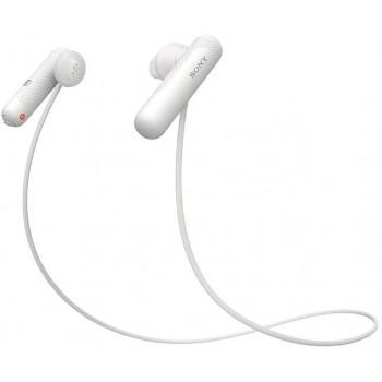 Беспроводные наушники Sony WI-SP500 White