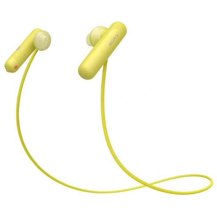 Беспроводные наушники Sony WI-SP500 Yellow